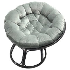 Midcentury Italian Bamboo Lounge Chair, 1970s