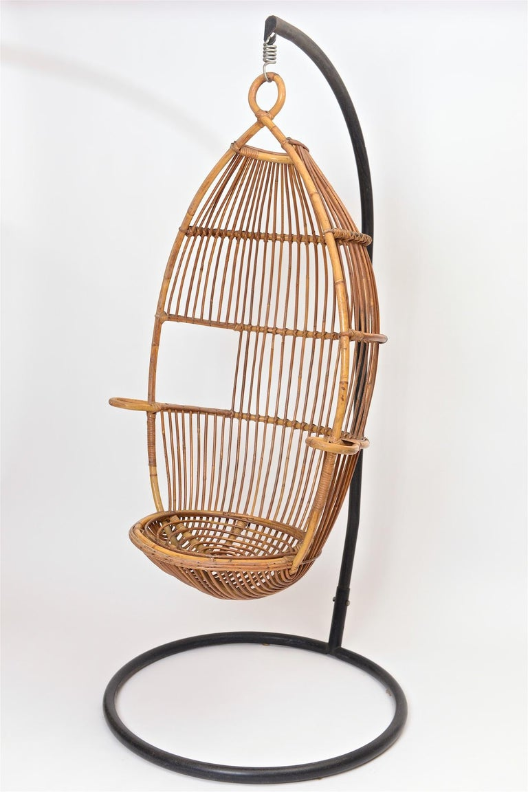 Italian Bonacina Swing Chair For Sale