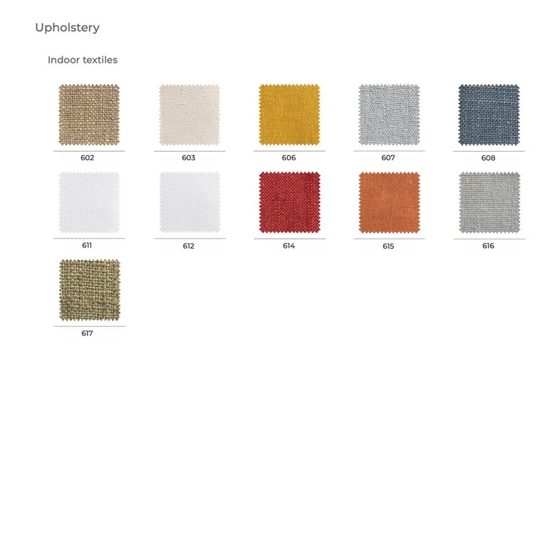 Contemporary Bonacina 1889 Nastro Indoor Armchair Natural Rattan Upholstered, Joe Colombo For Sale