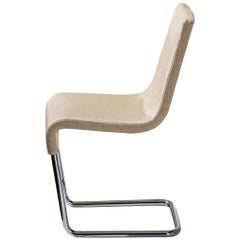 Bonaldo Skip Chair in Beige Leather by Karim Rashid