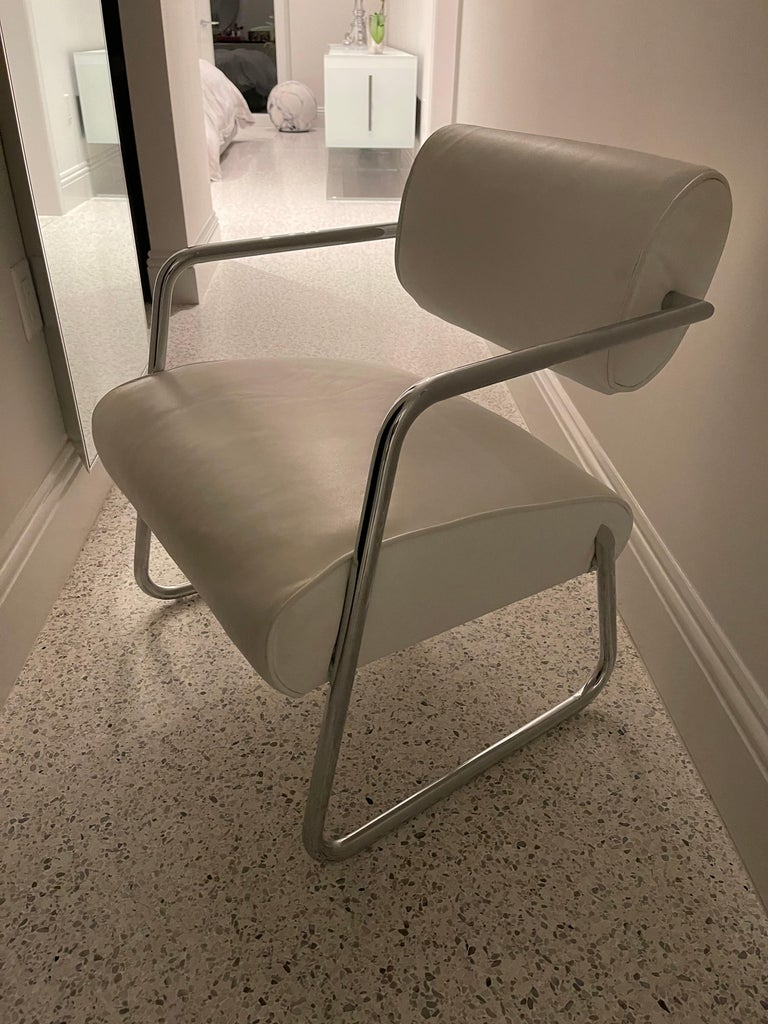 Mid-20th Century Bonaparte Armchair by Eileen Gray manufactured by ClassiCon For Sale