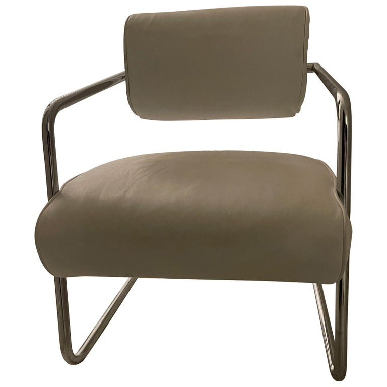 Bonaparte Armchair by Eileen Gray manufactured by ClassiCon For Sale