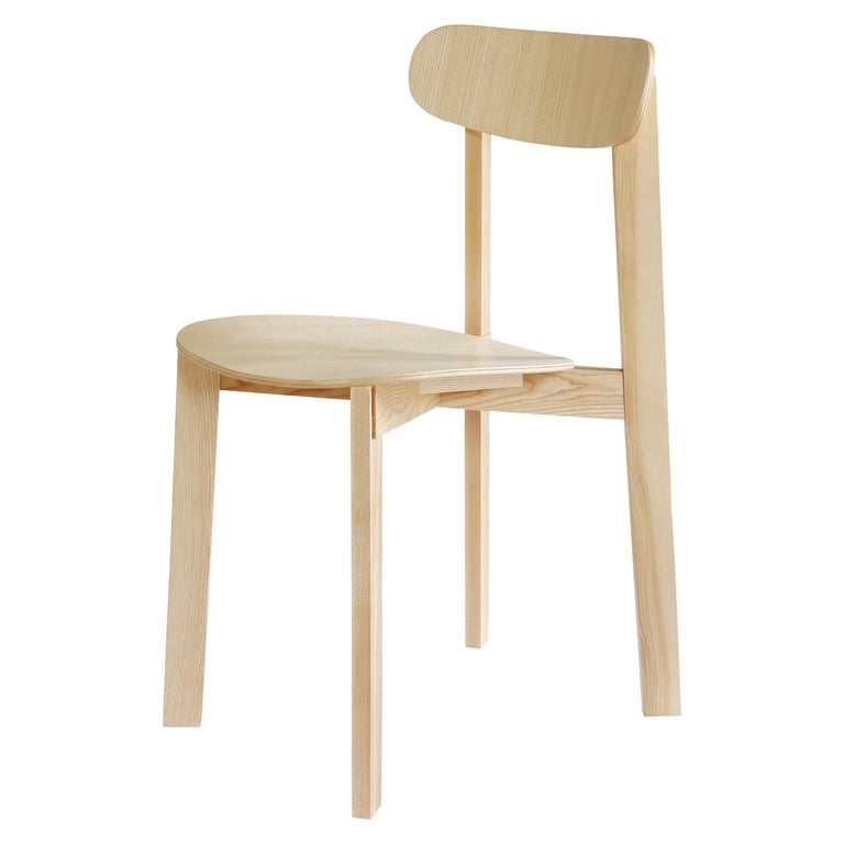 For Sale: Brown (Natural Ash) Bondi Stackable Dining Chair in Ashwood