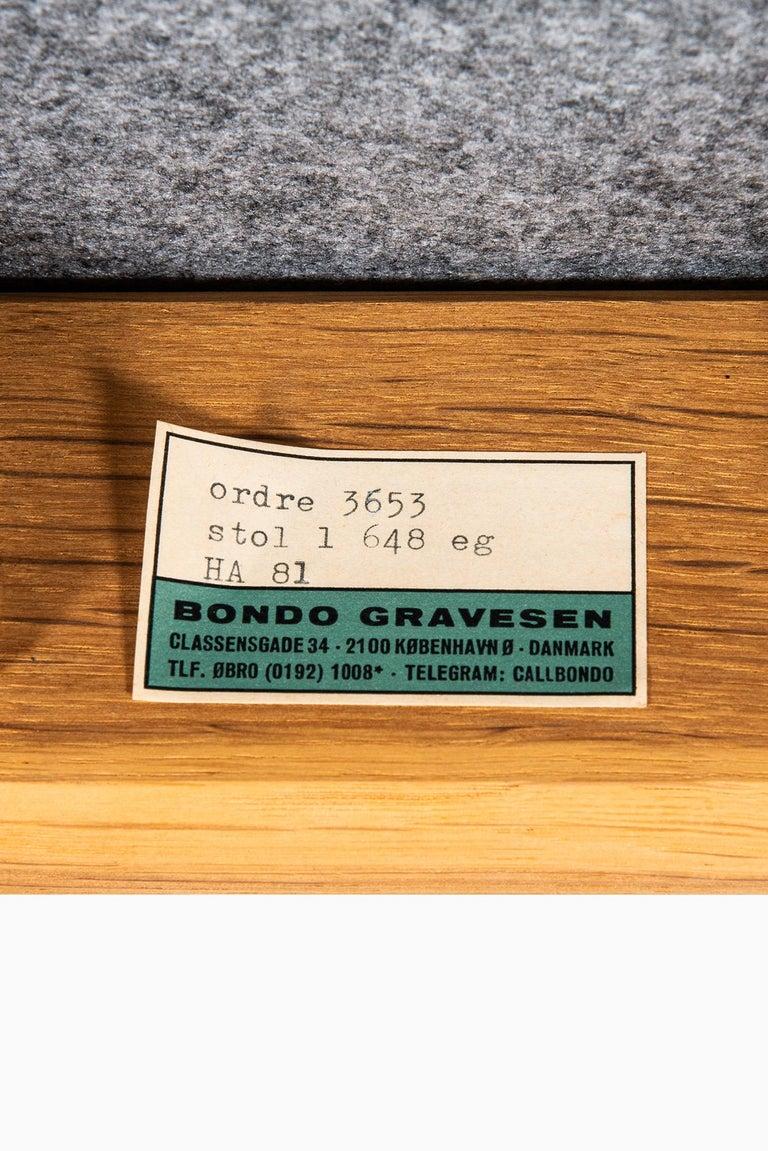 Bondo Gravesen Armchairs in Oak by Bondo Gravesen in Denmark For Sale 1