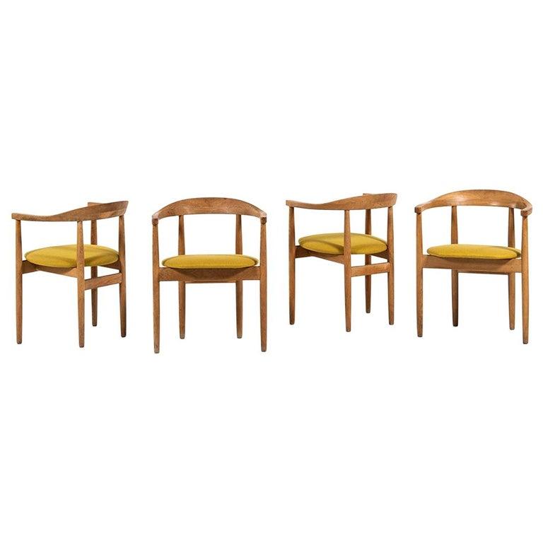Bondo Gravesen Armchairs in Oak by Bondo Gravesen in Denmark For Sale