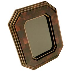 Bone and Brass Picture Frame