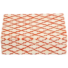 Bone and Coral Trellis Decorative Box
