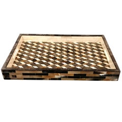 Bone and Horn Tray, Indonesia, Contemporary