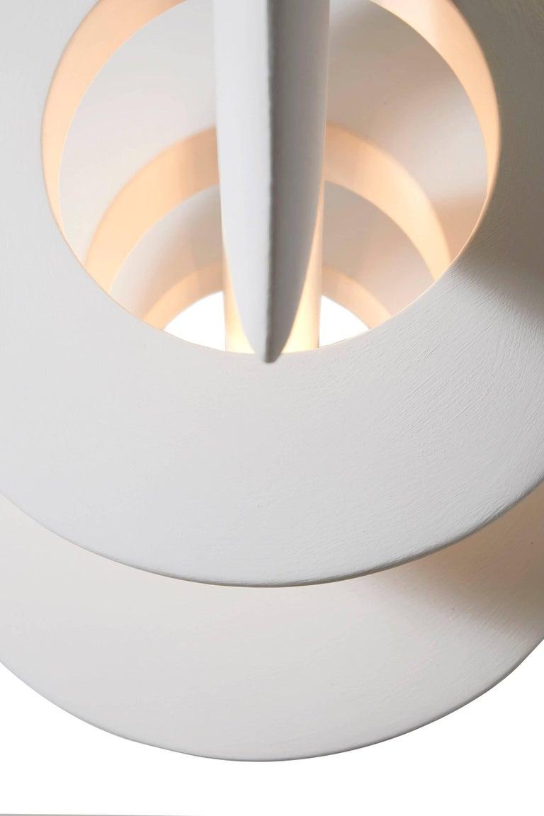 """Bones"" a Sculpted Plaster Ceiling Light by Alexandre Logé ..."