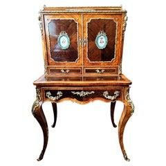"Bonheur Du Jour Desk, Napoleon III Period ""Happiness of the Day"" 19th Century"