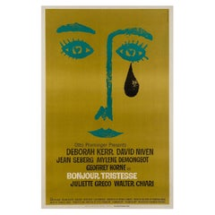 Bonjour Tristesse US Film Poster, Saul Bass, 1968