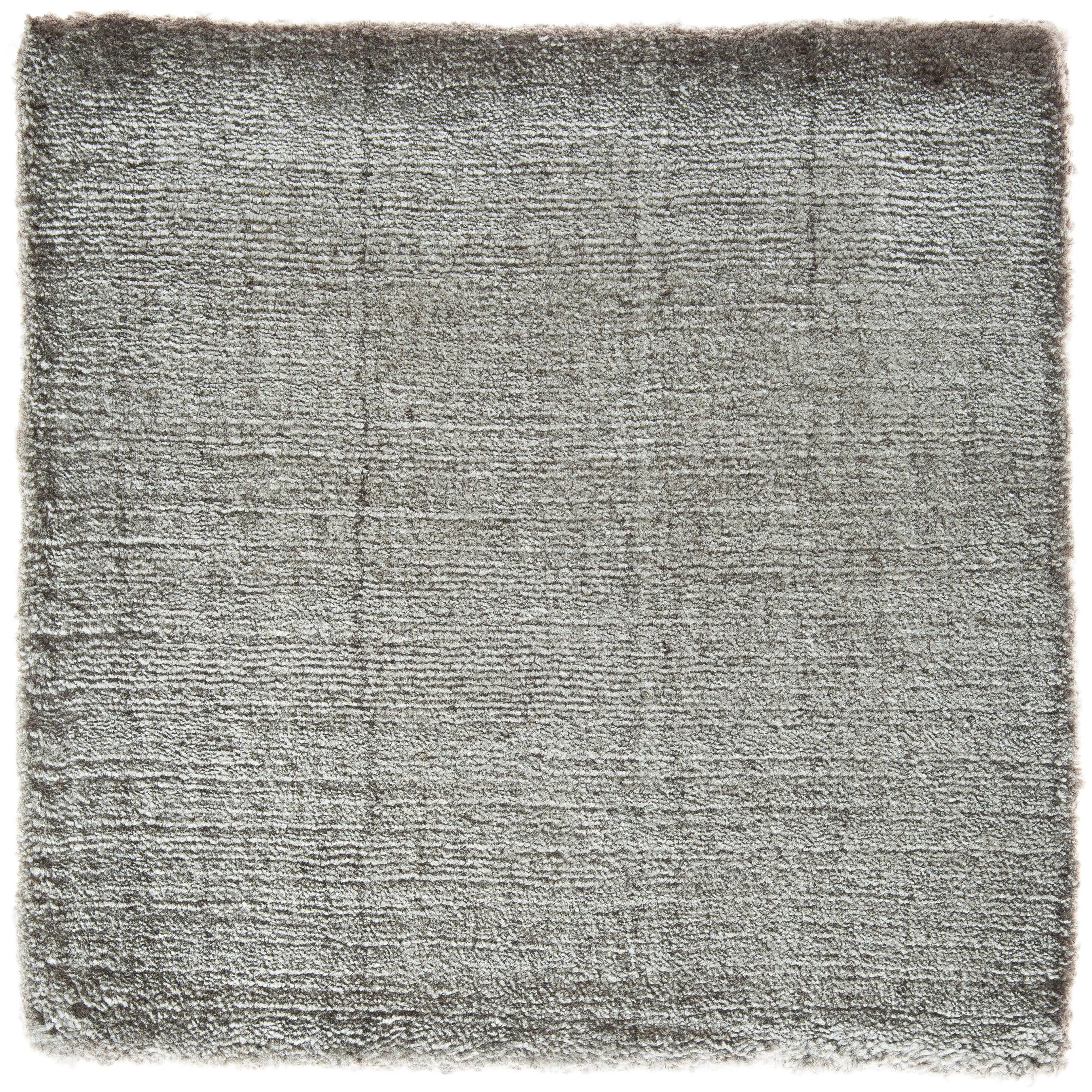Bonn Belfast Taupe Hand Loomed Bamboo Silk Solid Neutral Rug Any Size For At 1stdibs