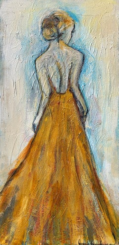 Queen Bee II by Bonnie Beauchamp Cooke 2021 Impressionist Figurative Painting