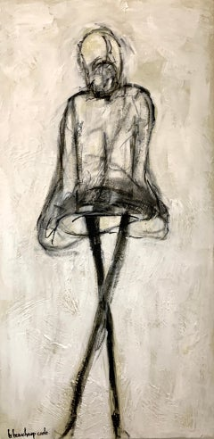 Reverence by Bonnie B. Cooke, Contemporary Oil on Canvas Figure Painting