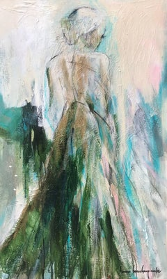 'Synergy' Large Impressionist Figurative Painting