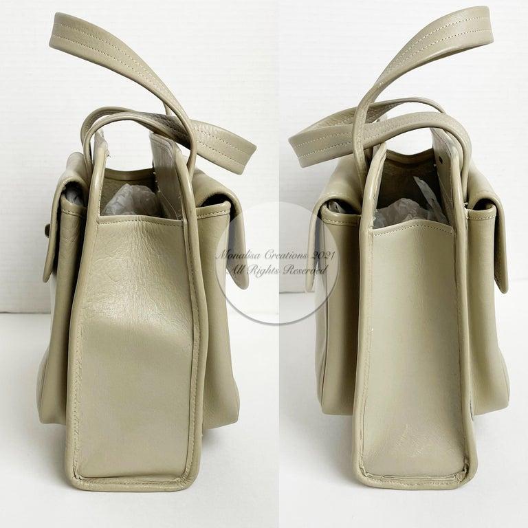 Women's or Men's Bonnie Cashin for Coach Double Pocket Safari Bag Tote Vintage 60s Rare For Sale