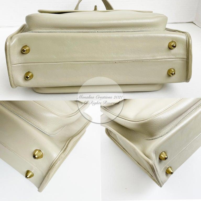 Bonnie Cashin for Coach Double Pocket Safari Bag Tote Vintage 60s Rare For Sale 2