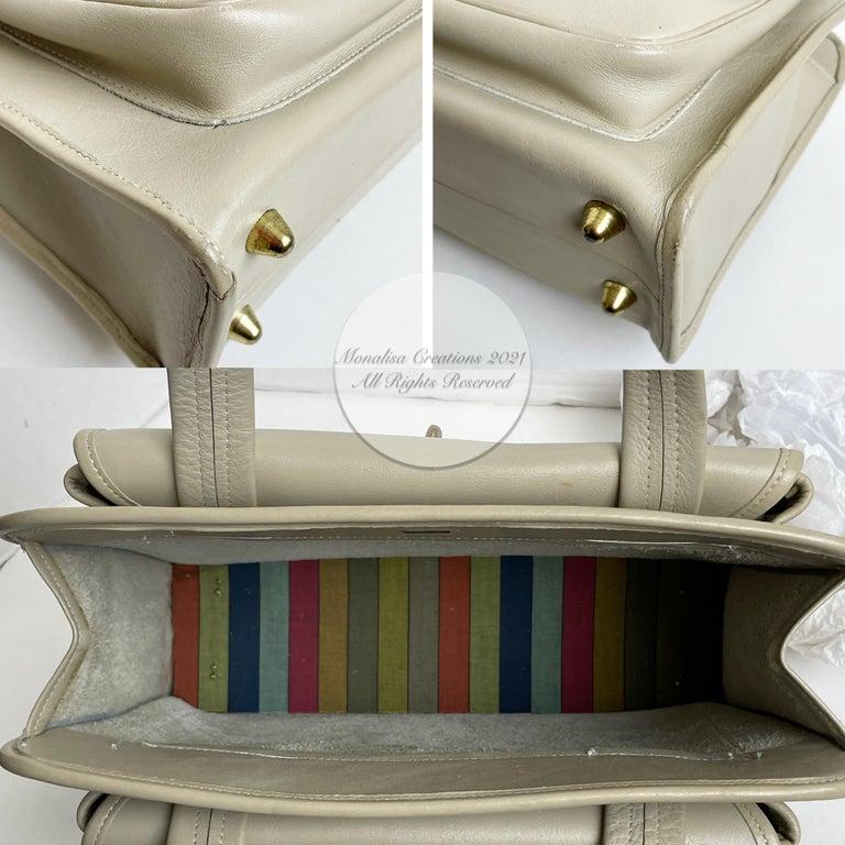 Bonnie Cashin for Coach Double Pocket Safari Bag Tote Vintage 60s Rare For Sale 3