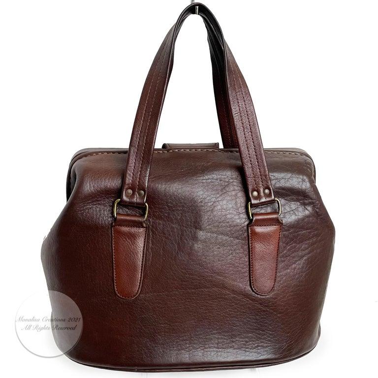 Bonnie Cashin for Coach Rare 'Super Hero Lunch Box' Doctors Bag Satchel Rare  For Sale 5