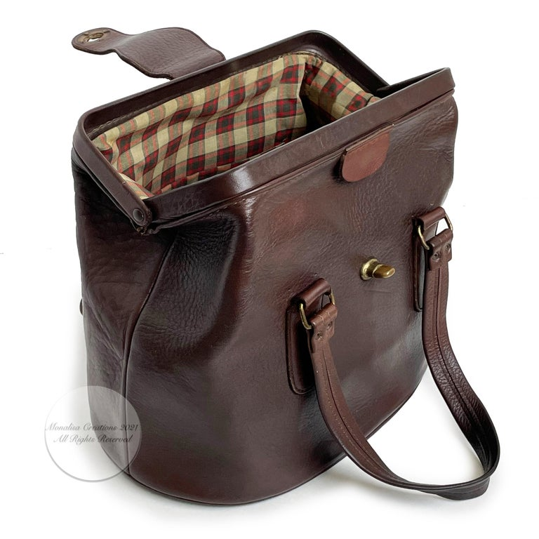 Bonnie Cashin for Coach Rare 'Super Hero Lunch Box' Doctors Bag Satchel Rare  For Sale 1