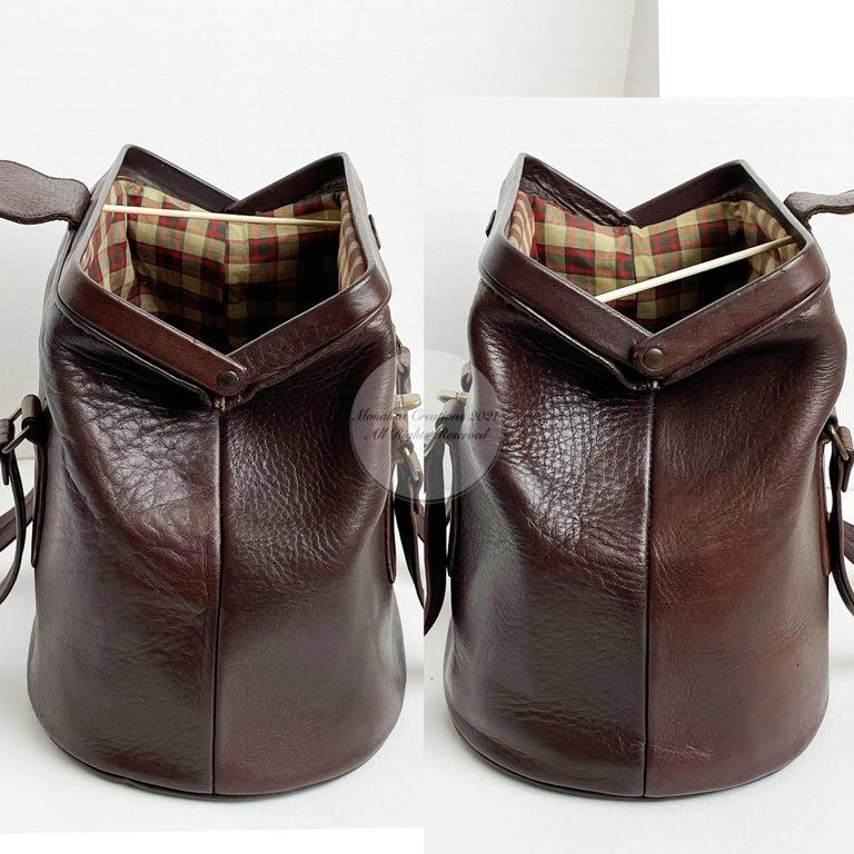 Bonnie Cashin for Coach Rare 'Super Hero Lunch Box' Doctors Bag Satchel Rare  For Sale 3