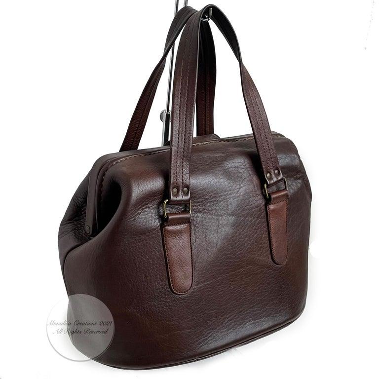 Bonnie Cashin for Coach Rare 'Super Hero Lunch Box' Doctors Bag Satchel Rare  For Sale 4
