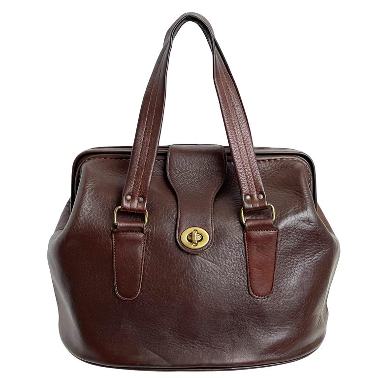 Bonnie Cashin for Coach Rare 'Super Hero Lunch Box' Doctors Bag Satchel Rare  For Sale