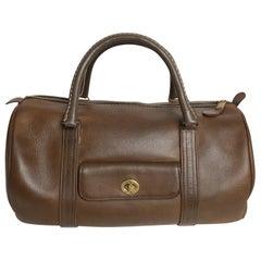 Bonnie Cashin for Coach Safari Bag Duffel Tote Vintage 60s Rare