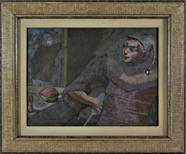 Bonnie Whittingham Figurative Painting - Harlequin