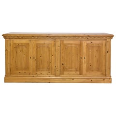 Bonnin Ashley Custom-Made English-Style Sideboard / Credenza in Repurposed Pine