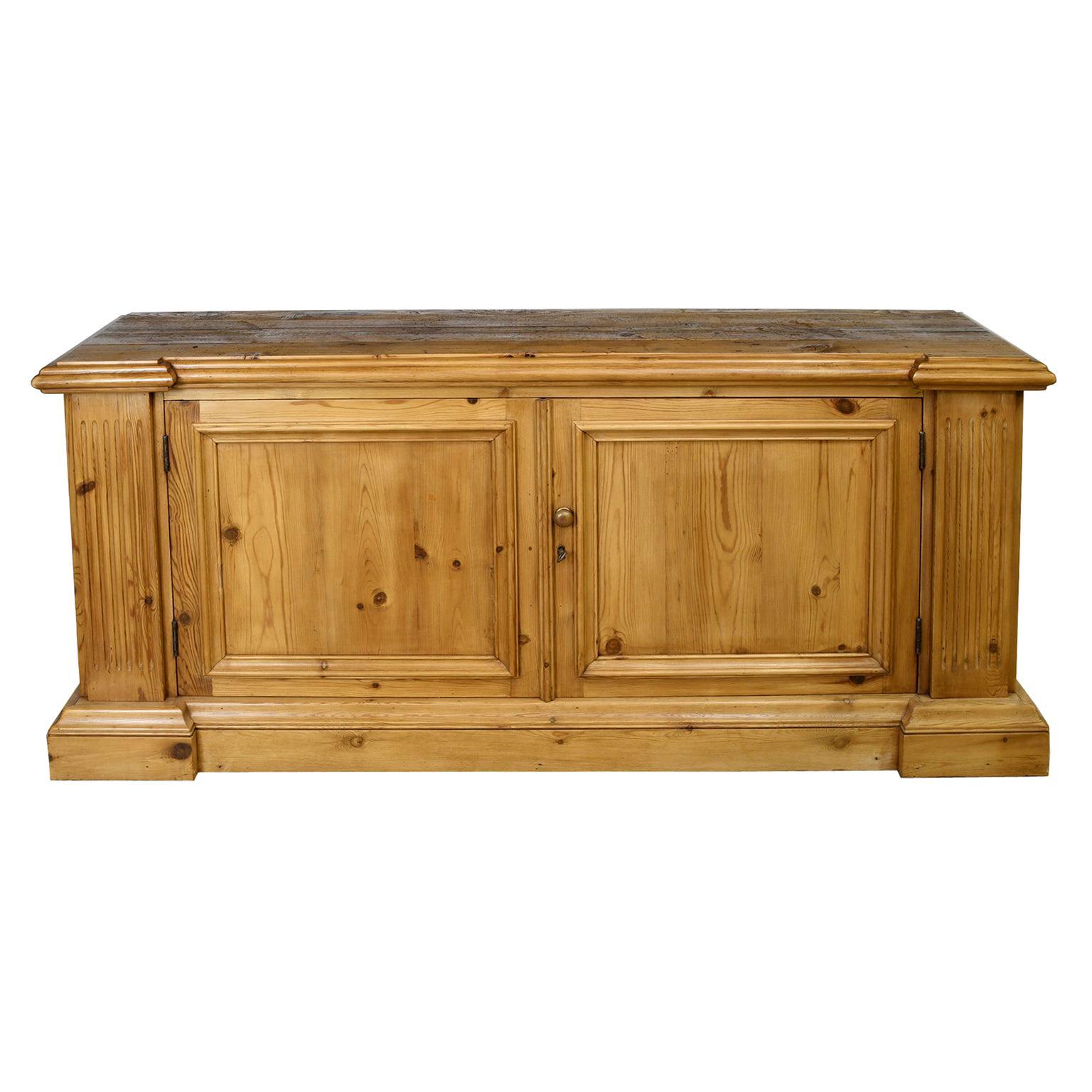 Bonnin Ashley Custom Made Sideboard Cabinet in Repurposed European Pine