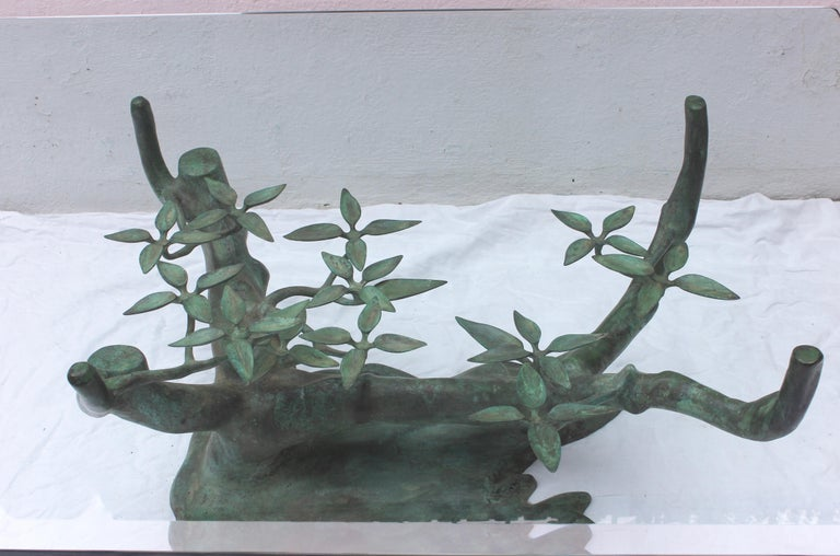 Belgian Bonsai Tree Coffee Table by Willy Daro For Sale