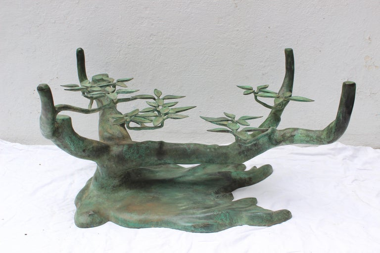 Bonsai Tree Coffee Table by Willy Daro For Sale 3