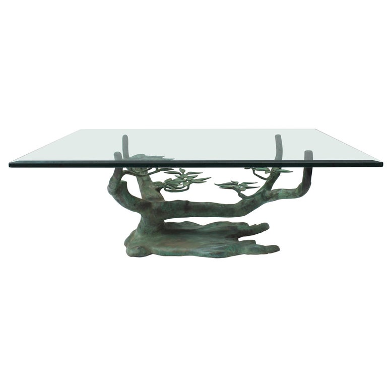 Bonsai Tree Coffee Table by Willy Daro For Sale