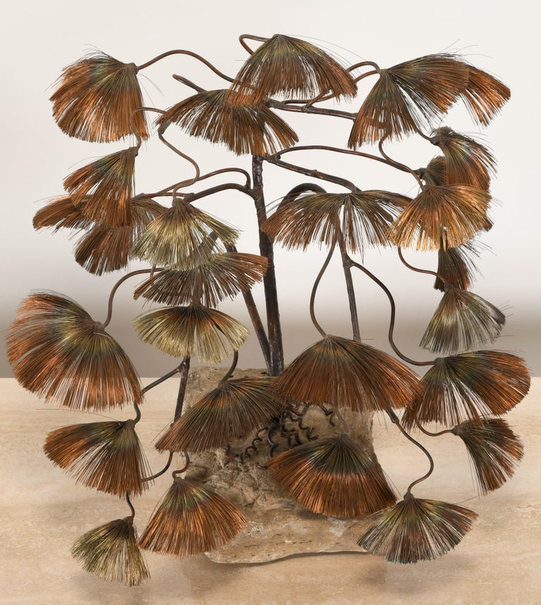American Bonsai Tree Sculpture by John Steck, 1960s For Sale