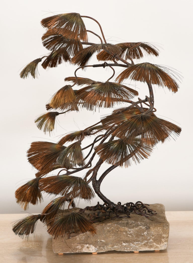 Bonsai Tree Sculpture by John Steck, 1960s For Sale 1