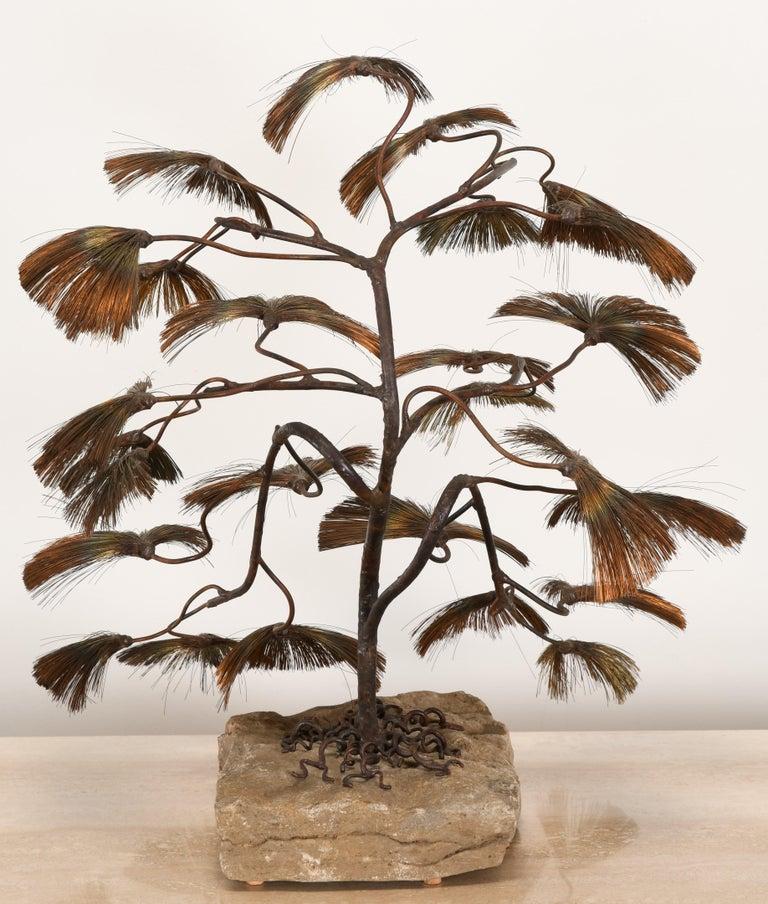 Bonsai Tree Sculpture by John Steck, 1960s For Sale 2