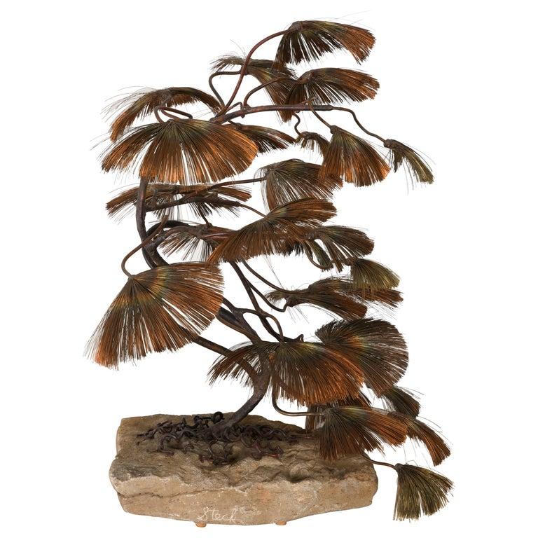 Bonsai Tree Sculpture by John Steck, 1960s For Sale