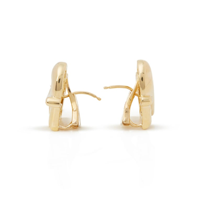 Code: COM2188 Brand: Boodles Description: 18k Yellow Gold Diamond Hug Earrings Accompanied With: Presentation Box Gender: Ladies Earring Length: 1.9cm Earring Width: 1.9cm Earring Back: Omega Condition: 8 Material: Yellow Gold Total Weight: 15.67g