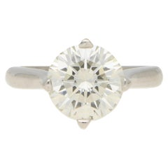 Boodles 4.06 Carat Diamond Solitaire Engagement Ring Set in Platinum