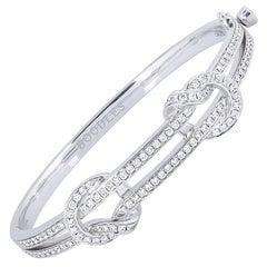 Boodles the Knot Diamond Bangle 1.80 Carat