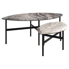 BOOK 1&2 Set of Contemporary Coffee Tables by Artefatto Design Studio