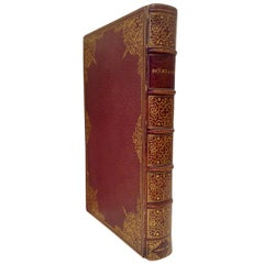 Book, A Fine Binding Boxiana, London, 1812