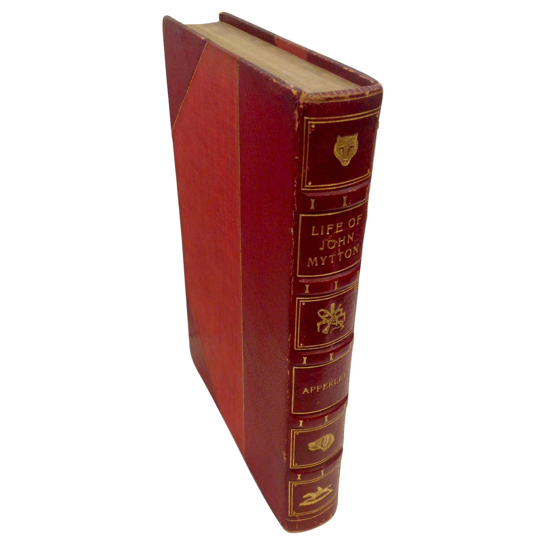 Book, A Fine Binding The Life of John Mytton, Esq.