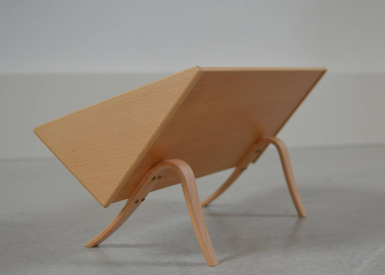 'Book Crib' by Bruno Mathsson, Swedish Modern Books and Magazine Holder In Good Condition For Sale In Utrecht, NL