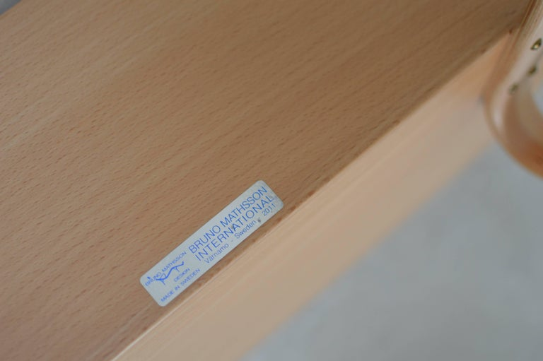 'Book Crib' by Bruno Mathsson, Swedish Modern Books and Magazine Holder For Sale 1