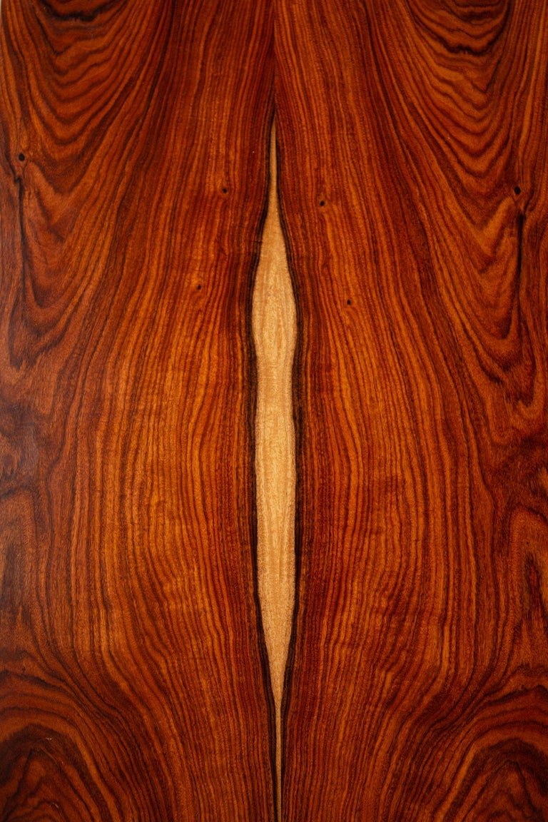20th Century Bookmatched Rosewood Irwin Collection Side Tables by Paul McCobb for Calvin For Sale
