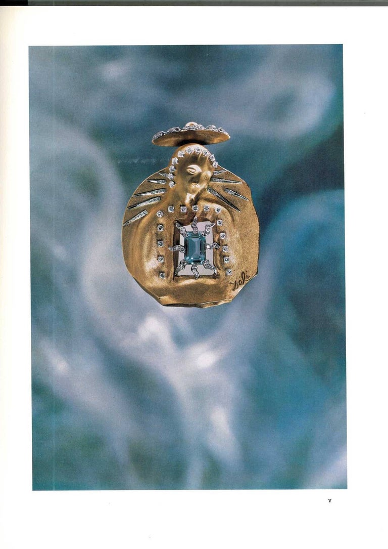 Book of Dali, a Study of his Art-in Jewels 'The Owen Cheatham Foundation', Book In Good Condition For Sale In London, GB