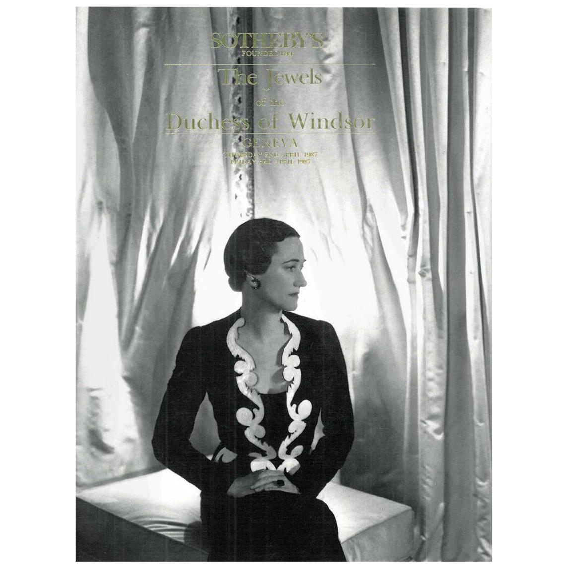 Book of the Jewels of the Duchess of Windsor, Sotheby's, April 1987