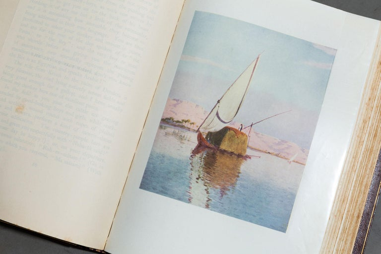 'Book Set', 1 Volume, R. Talbot Kelly, Egypt In Good Condition For Sale In New York, NY